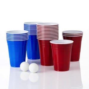 Beer Pong kopper og 2 bolde