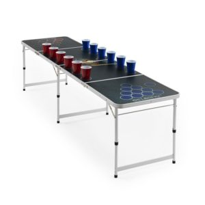 Beer Pong bord med Flip Cup